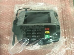 Verifone Mx860 Credit Card Terminal W Chip Card Reader Stylus W o Ac Adapter