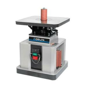 Delta 31 483 1 2 Hp Heavy Duty Bench Oscillating Spindle Sander With Tilt Table