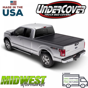 Undercover Ultra Flex Hard Trifold Tonneau Cover Fits 2019 Ford Ranger 5 Bed