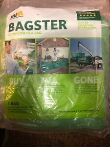 Waste Management Bagster 3 Cu Yd Dumpster In A Bag Buy Max Wt 3 300lbs 8x4x2 Ft
