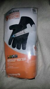 Polyco Hex3041 l Hexarmor Hercules Nsr Work Gloves 1 Pair Size 9 large Black