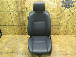 08 11 Mercedes Benz W204 Front Left Driver Side Seat Cushion Black Leather Oem