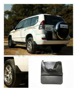 For Toyota Land Cruiser Prado Fj120 2003 09 2pcs H Both Rear Mud Flaps Dirtboard