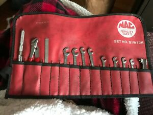 Mac Tools Kit Bag With Wrenches And Accessories