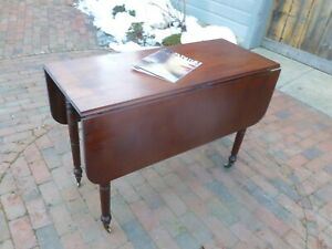 Gorgeous Antique Federal Drop Leaf Table Possible Free Delivery 1820s 1840s