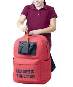 Academic Function Backpacks With Integrated Powered Pencil Sharpener
