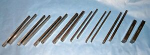 8 Sets precision Parallels 4 To 6 Long made By Usa Toolmaker vgc
