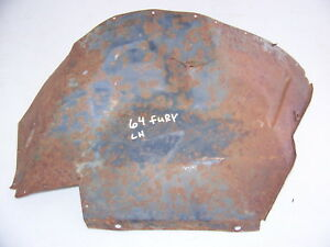 1964 Plymouth Belvedere Fury Sport Fury Splash Shield Oem Lh