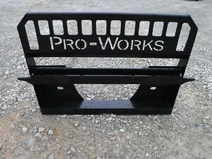 Bobcat Skid Steer Attachment Extreme Pallet Fork Back Plate Frame Ship 149