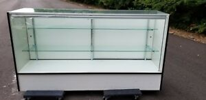 Retail Light Up Glass Showcase 70 18x38 Display Case Pick Up Only