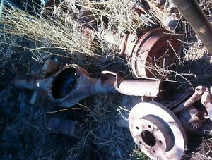 1970 S Lincoln Ford 9 Rear End Housing Axles Disc Brakes
