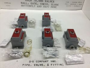Allen Bradley 800h Push Button Stop Switch lot Of 5