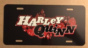 Harley Quinn License Plate