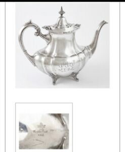 Sterling Silver Teapot Reed Barton