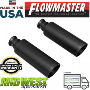 Flowmaster 4 In Angle Cut Exhaust Tips Fits 2009 2018 Dodge Ram 1500 5 7l Hemi