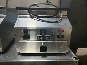 Ember Glo Es5cts Electric Countertop Food Steamer 14 Top Opening Push Button