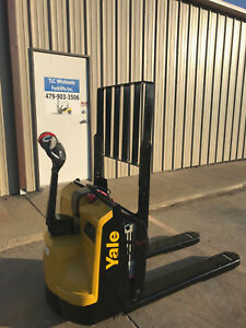 2015 Yale Electric Pallet Jack Model Mpb045 Walkie Only 1960 Hours Forklift
