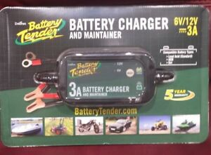 New Deltran Battery Tender Power Plus 3 Amp Charger And Maintainer