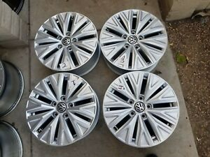 16 Vw Volkswagon Jetta 2018 2019 Oem Factory Wheels Rims Set Of 4 Free Shippin