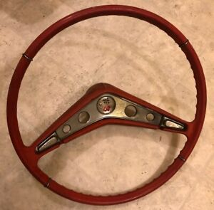 1959 1960 Chevrolet Chevy Impala Steering Wheel Original