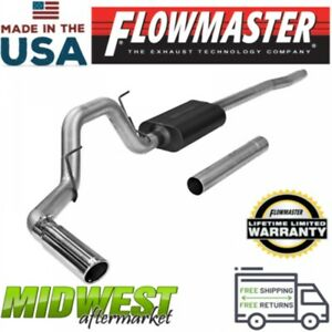 Flowmaster Cat Back Exhaust System 2004 08 Ford F150 Lincoln Mark Lt 4 6l 5 4l