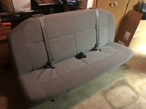 2008 2014 Ford Econoline Wagon Van Bench Seat 4 Person Bench Gray Xlt Xl E350