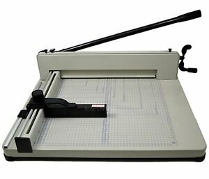 Manual Paper Cutter 17 Model 858 a3 Guillotine Paper Cutter