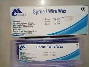 Maarc s Sprue wire Wax Use For Dentures 600g Pack