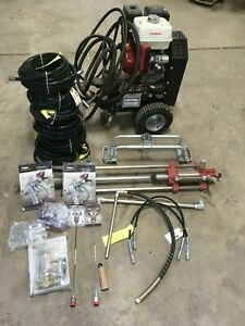 New Titan Hydra Speeflo M4000 Gas Airless Paint Sprayer Honda 13hp Lot