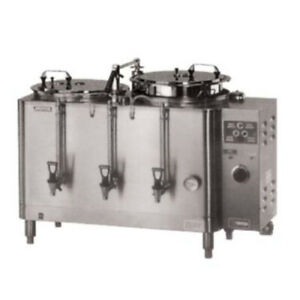 Grindmaster cecilware 7776e Electric Double Midline Heat Exchange Coffee Urn