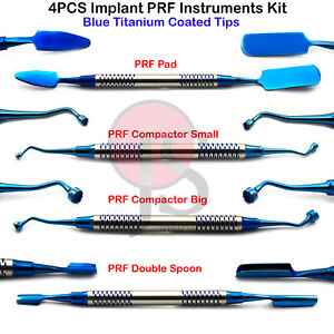 Dental Implant Surgical Prf Instruments Grf Surgery Process Kit Compactor Spoon