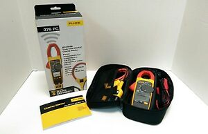 New Fluke Connect 376 Fc 1000a 1000v Truerms Ac dc Clamp Amp Meter Iflex Probe