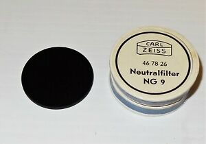 Zeiss Microscope Neutral Density Filter Ng 9