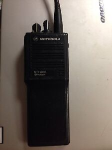 lot Of 10 Motorola Mts2000 H01ucd6pw1bn Talkie Radio Free Shipping