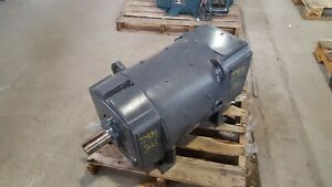 30 Hp Dc General Electric Motor 1150 Rpm 368aty Frame Tefc 500 V