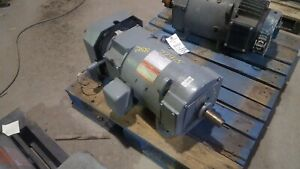 5 Hp Dc General Electric Motor 1150 Rpm 258aty Frame Tefc 240v New
