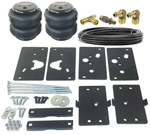 Air Tow Assist Load Level Kit For 14 18 Dodge Ram 2500 Bolt On Install No Drill