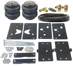 Air Tow Assist Load Level Kit For 14 20 Dodge Ram 2500 Bolt On Install No Drill