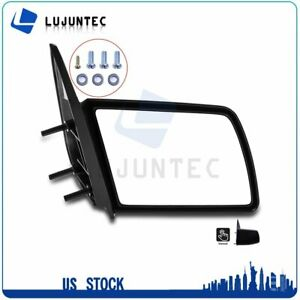 For 1988 1998 Chevy Gmc C k Truck Right Manual Passenger Side View Rear Mirror
