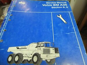 Volvo Bm A35 Sections 8 9 Service Manual