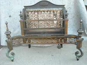 Antique 1920 S Humphrey Radiantfire Heater Radiant Fire Place Gas Stove No 80