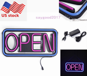 20 Waterproof Pvc Square Neon Light Outdoor Hanging Led Open Sign Business Sign