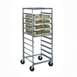 Lakeside 2000 Plastic Utility And Bussing Cart With Three Shelves