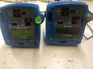 Parts Only Dinamap Pro 400 Vital Signs Patient Monitor Dp400 Medical Lot Of 2