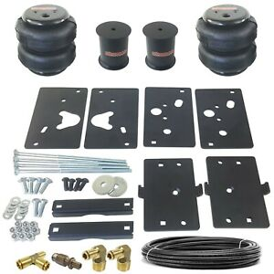 Air Tow Assist Load Level Kit 2014 18 Dodge Ram 2500 Already Lifted 6 No Drill
