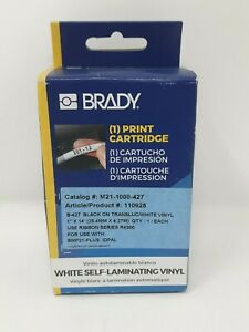 Brady 110928 Bmp21 Series Self laminating Vinyl Wire Cable Labels M21 1000 427