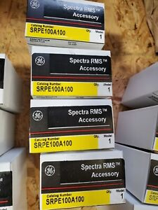 Ge Spectra Srpe100a100 100amp Circuit Breaker Rating Plug Brand New In Box