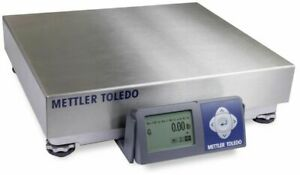 New Mettler Toledo Bc Shipping Scale Usb Bca 222 60u 150 Max Stainless Steel Top