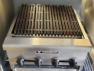 24 Inch Counter top Natural Gas Char broiler Grill Commercial Restaurant Broiler