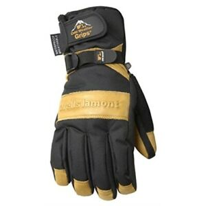 Men s Waterproof Winter Gloves With Leather Palm Large wells Lamont 7660l
